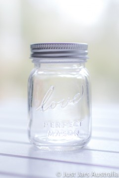 Miniature Mason jar with lid (100ml)