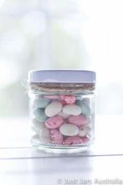 100ml round jar (with lid)