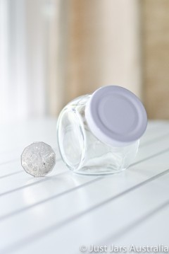 SALE ITEM - 24 x 182ml sideways jars - End of line item!