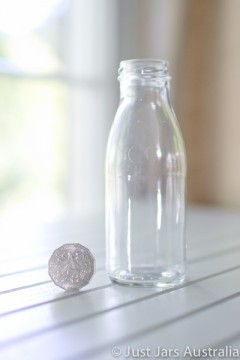 SALE ITEM - 70 x 250ml bottles without lids