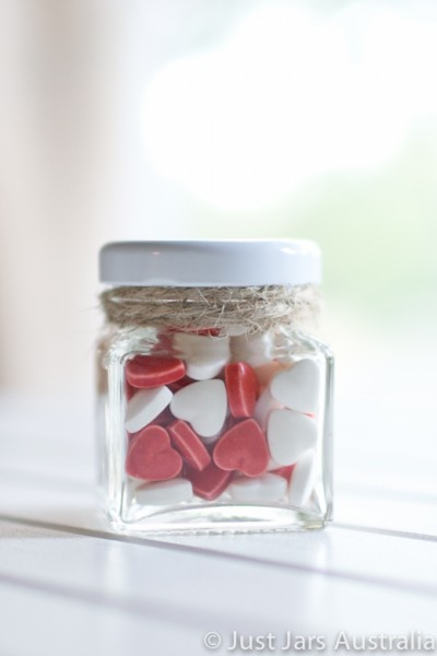 50ml square jar (with lid)