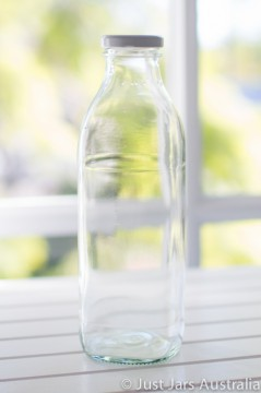 SALE ITEM - 20 x 750ml bottles with white lids