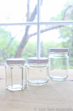 Sample pack - 3 mini favour jars (with lids) - You pick which ones!