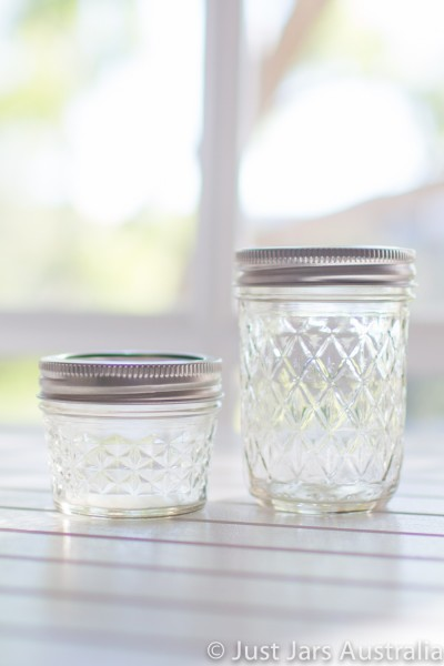 Mixed pack - 48 quilted Mason jars (with lids)